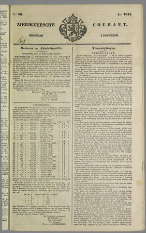 Zierikzeesche Courant 1844-11-05