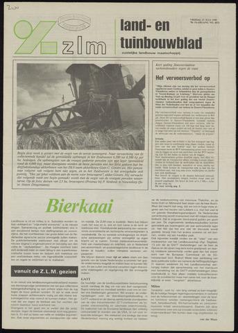 Zeeuwsch landbouwblad ... ZLM land- en tuinbouwblad 1990-07-27