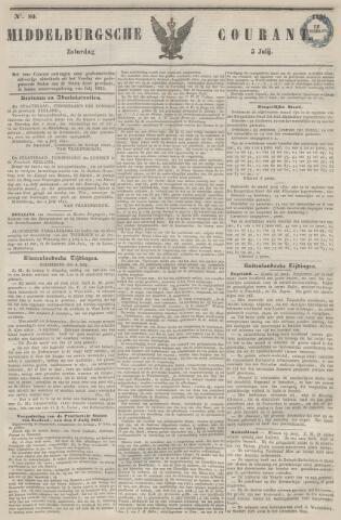 Middelburgsche Courant 1851-07-05