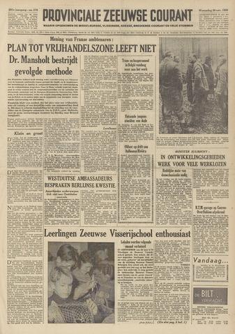 Provinciale Zeeuwse Courant 1958-11-26
