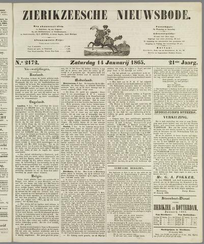 Zierikzeesche Nieuwsbode 1865-01-14