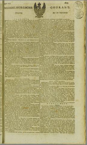 Middelburgsche Courant 1817-09-16