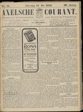 Axelsche Courant 1912-05-11