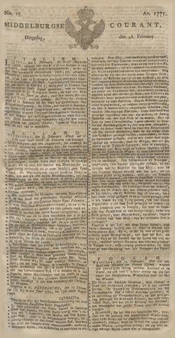 Middelburgsche Courant 1775-02-28
