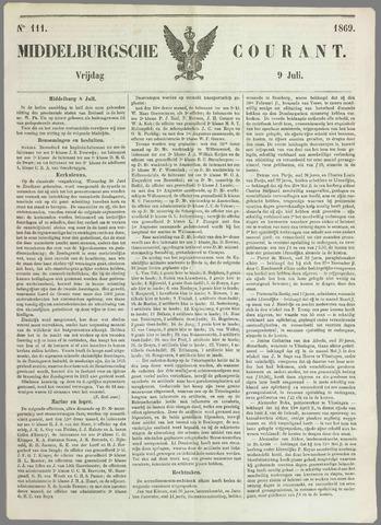 Middelburgsche Courant 1869-07-09