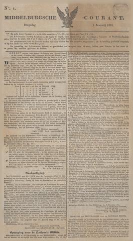 Middelburgsche Courant 1833