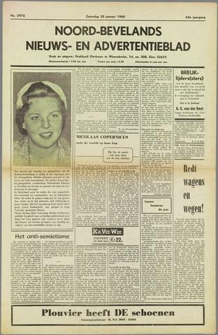 Noord-Bevelands Nieuws- en advertentieblad 1960-01-30