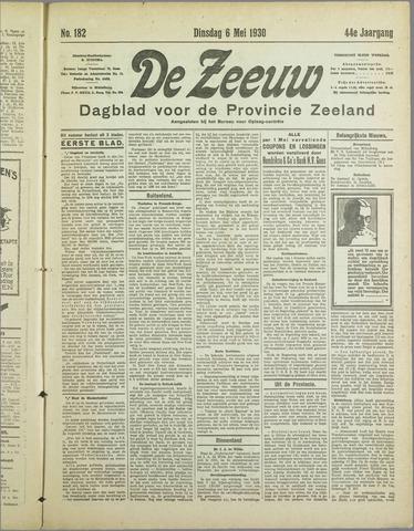 De Zeeuw. Christelijk-historisch nieuwsblad voor Zeeland 1930-05-06