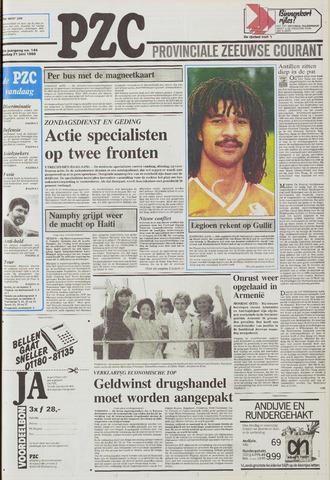 Provinciale Zeeuwse Courant 1988-06-21