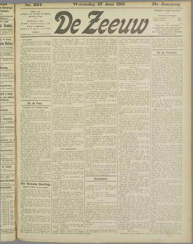 De Zeeuw. Christelijk-historisch nieuwsblad voor Zeeland 1917-06-27