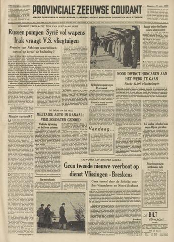 Provinciale Zeeuwse Courant 1956-11-27