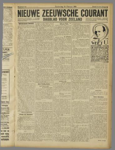 Nieuwe Zeeuwsche Courant 1921-02-24