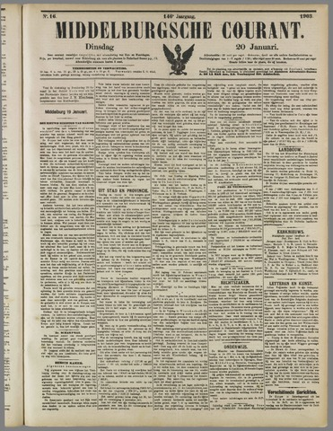 Middelburgsche Courant 1903-01-20