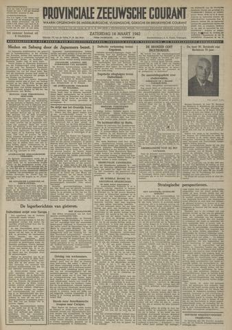 Provinciale Zeeuwse Courant 1942-03-14