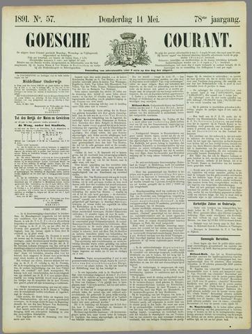 Goessche Courant 1891-05-14