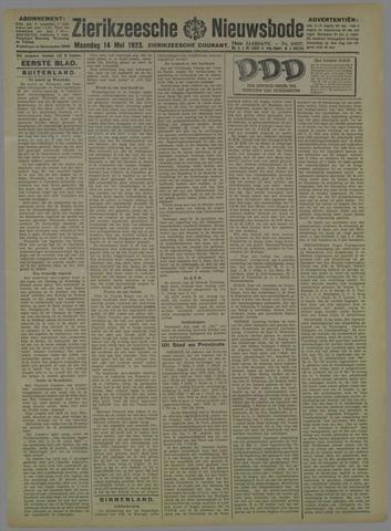 Zierikzeesche Nieuwsbode 1923-05-14