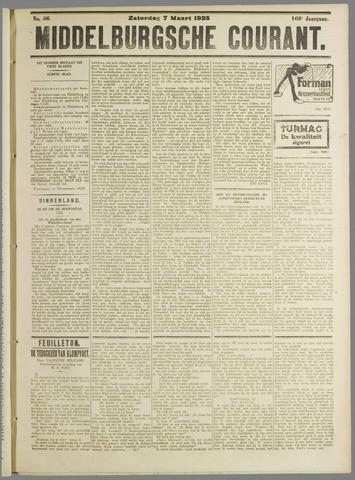 Middelburgsche Courant 1925-03-07