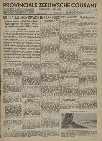 Provinciale Zeeuwse Courant 1944-06-07