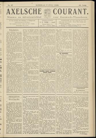 Axelsche Courant 1928-07-03