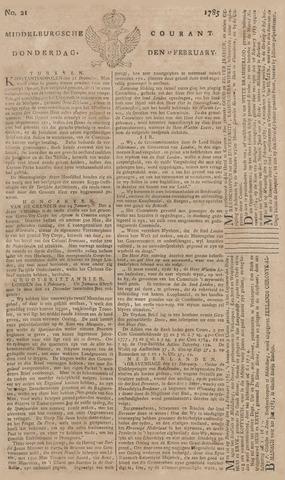 Middelburgsche Courant 1785-02-17