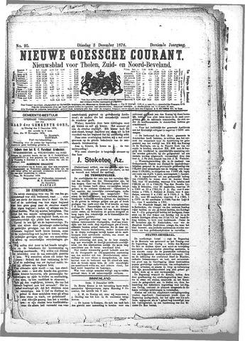 Nieuwe Goessche Courant 1878-12-03