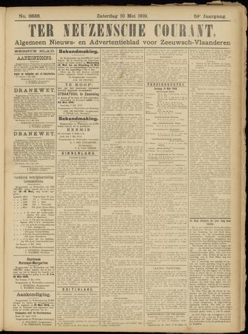 Ter Neuzensche Courant. Algemeen Nieuws- en Advertentieblad voor Zeeuwsch-Vlaanderen / Neuzensche Courant ... (idem) / (Algemeen) nieuws en advertentieblad voor Zeeuwsch-Vlaanderen 1919-05-10