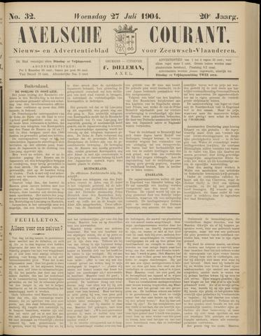 Axelsche Courant 1904-07-27