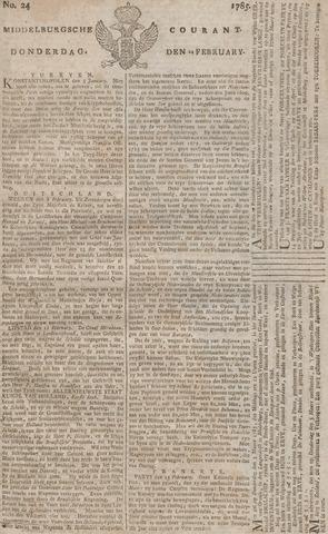 Middelburgsche Courant 1785-02-24