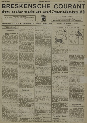 Breskensche Courant 1937-05-14