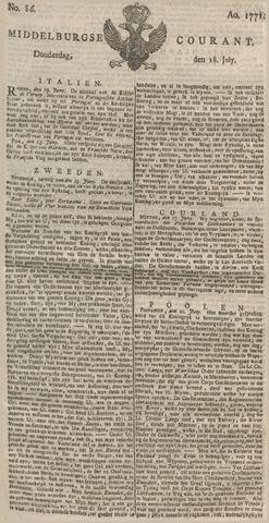 Middelburgsche Courant 1771-07-18