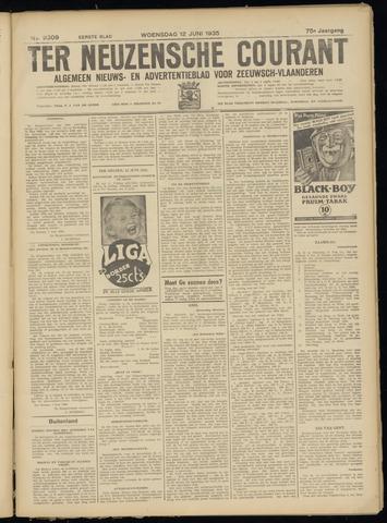 Ter Neuzensche Courant. Algemeen Nieuws- en Advertentieblad voor Zeeuwsch-Vlaanderen / Neuzensche Courant ... (idem) / (Algemeen) nieuws en advertentieblad voor Zeeuwsch-Vlaanderen 1935-06-12