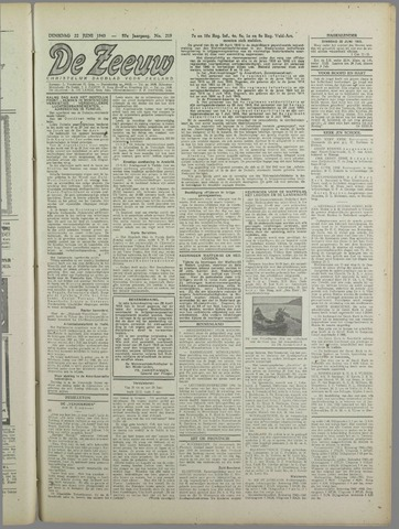 De Zeeuw. Christelijk-historisch nieuwsblad voor Zeeland 1943-06-22