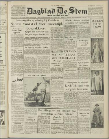 de Stem 1957-02-20