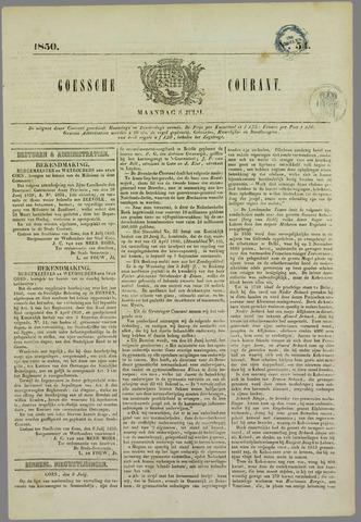 Goessche Courant 1850-07-08