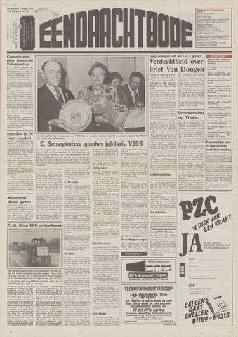 Eendrachtbode (1945-heden)/Mededeelingenblad voor het eiland Tholen (1944/45) 1989-03-02
