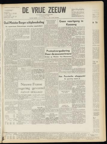de Vrije Zeeuw 1951-08-13