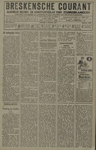 Breskensche Courant 1927-02-05