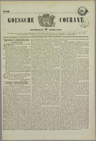 Goessche Courant 1853-02-17