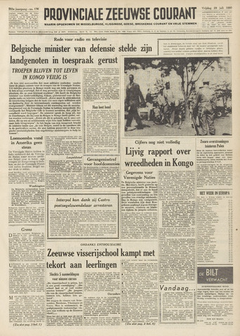 Provinciale Zeeuwse Courant 1960-07-29