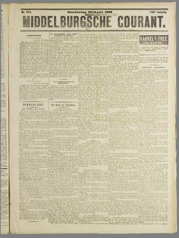 Middelburgsche Courant 1925-04-30