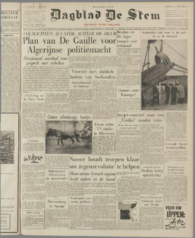 de Stem 1961-10-03