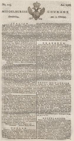 Middelburgsche Courant 1768-10-13