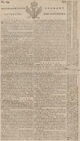 Middelburgsche Courant 1785-11-19