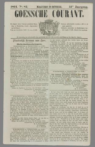 Goessche Courant 1864-10-24
