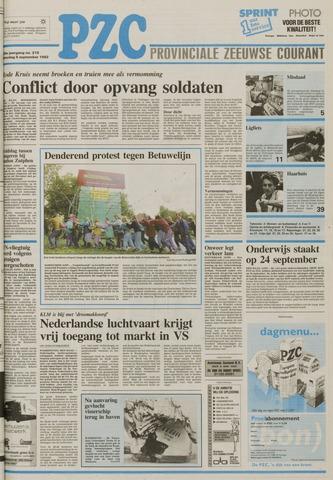 Provinciale Zeeuwse Courant 1992-09-05