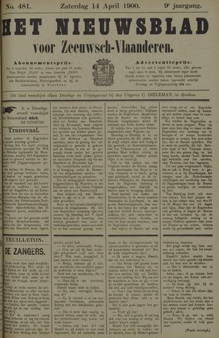 Nieuwsblad voor Zeeuwsch-Vlaanderen 1900-04-14