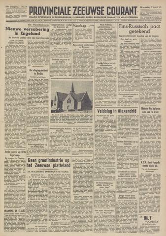 Provinciale Zeeuwse Courant 1948-04-07
