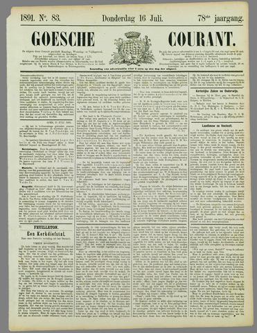 Goessche Courant 1891-07-16