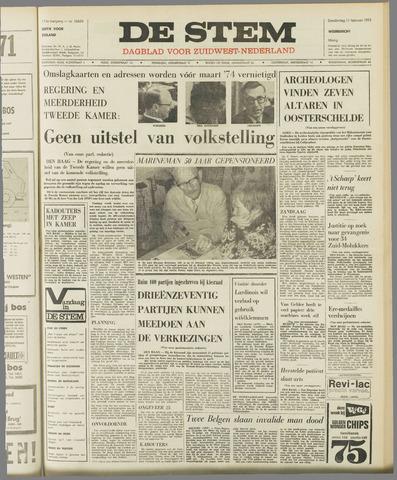 de Stem 1971-02-11
