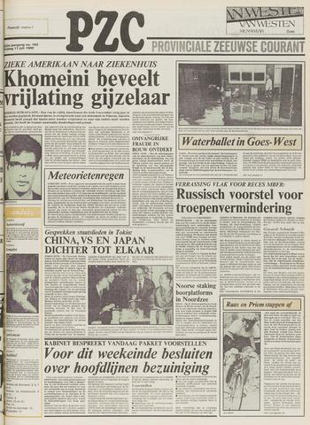 Provinciale Zeeuwse Courant 1980-07-11